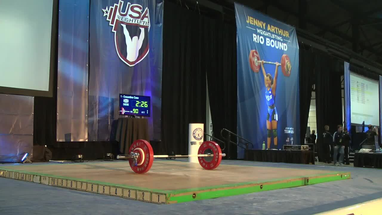 62kg B Session Snatch