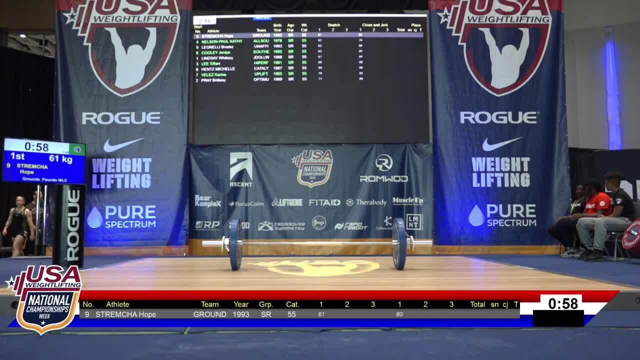 21 Nationals Session 2 Blue F 55kg B