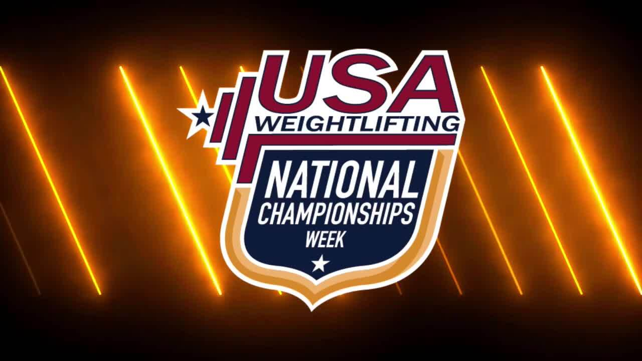 21 Nationals Session 14 Red F 76kg A