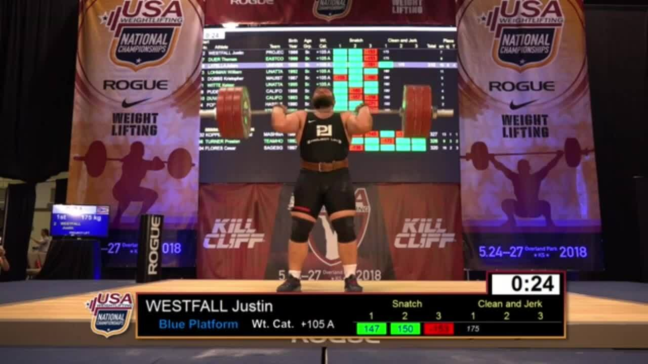 18 Nationals M plus105kg A