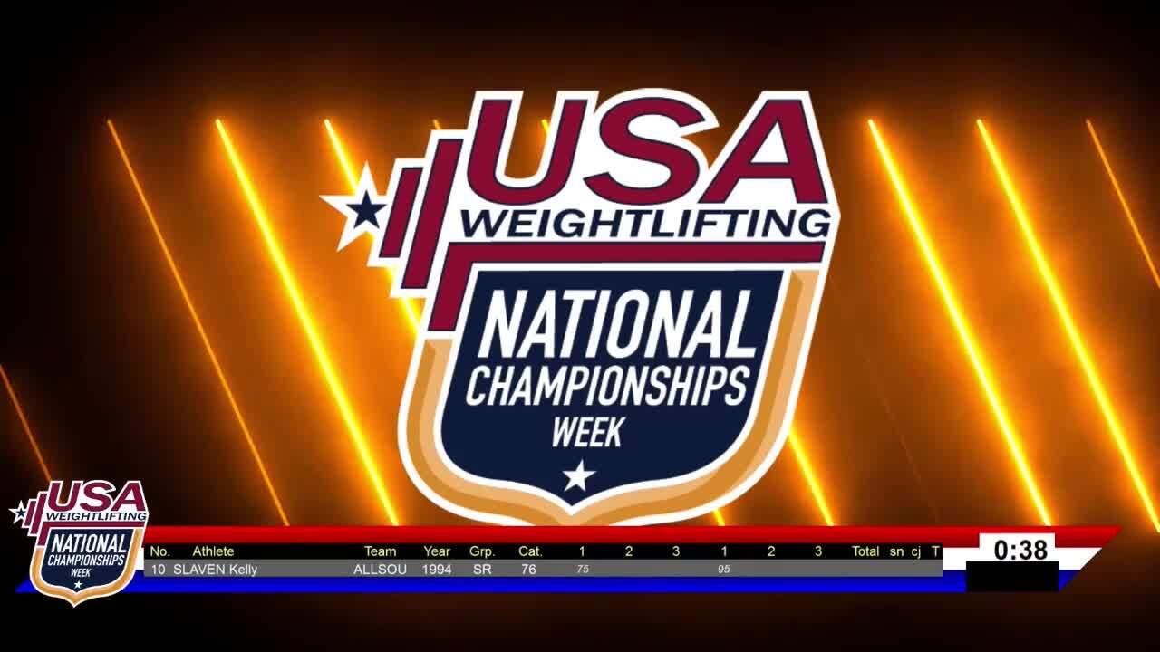 21 Nationals Session 10 Blue F 71kg 76kg