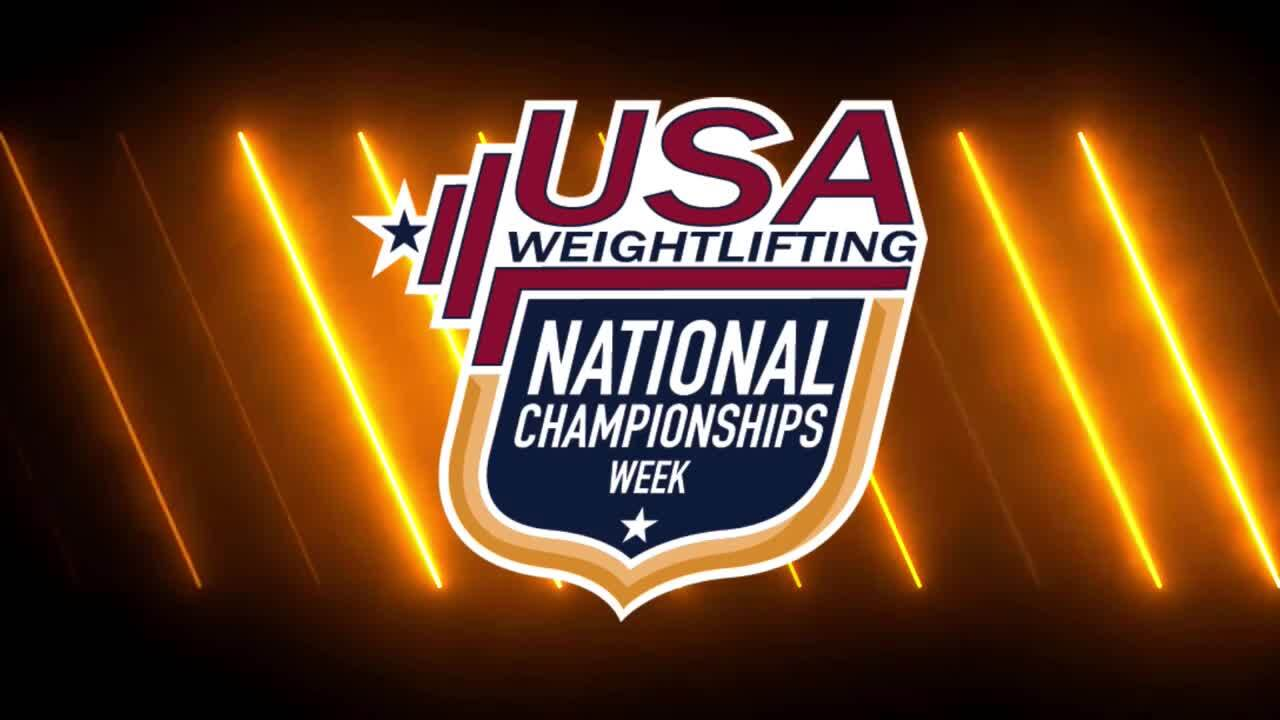 21 Nationals Session 9 White F 89kg A
