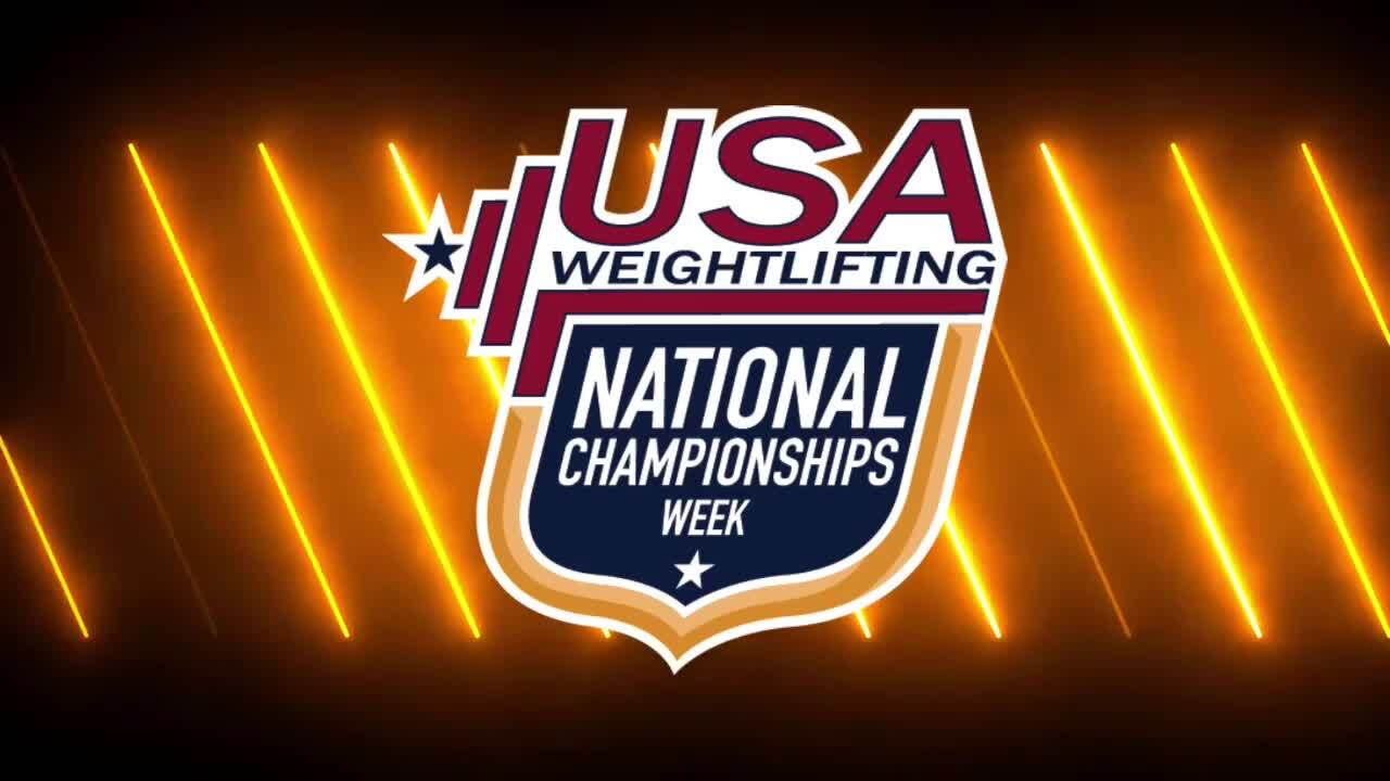 21 Nationals Session 10 Red F 64kg A