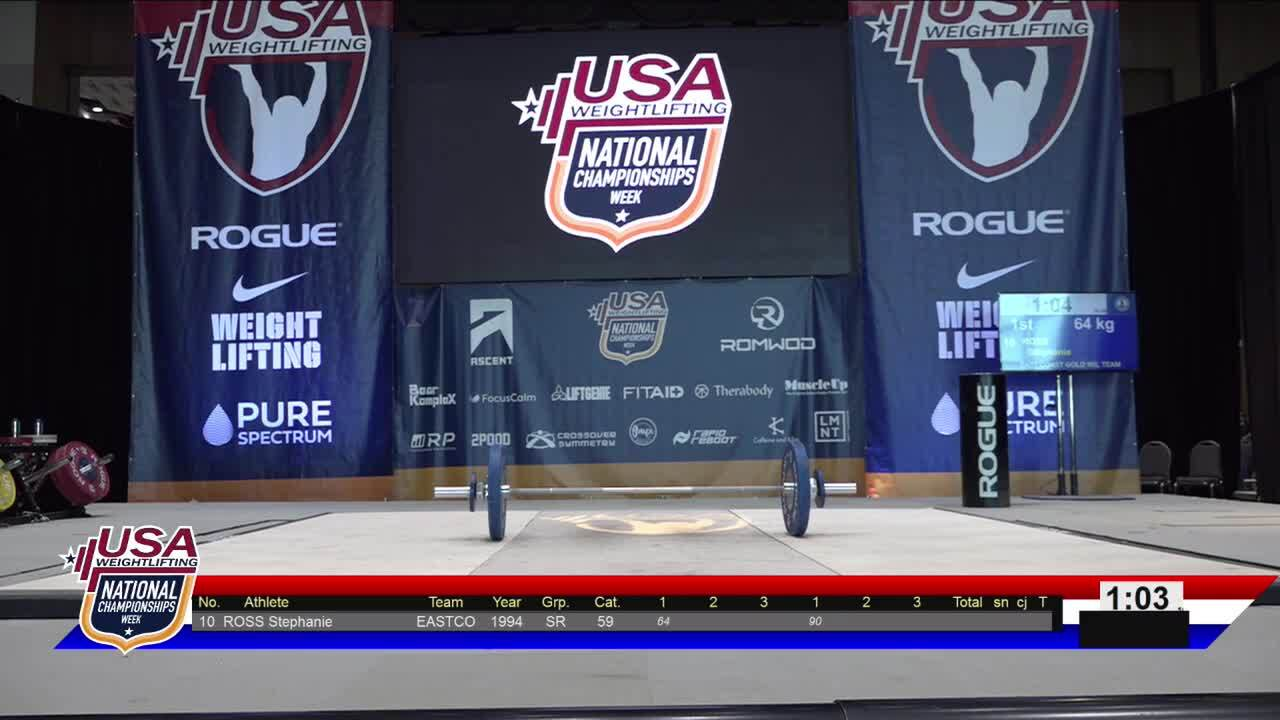 21 Nationals Session 1 White F 59kg C