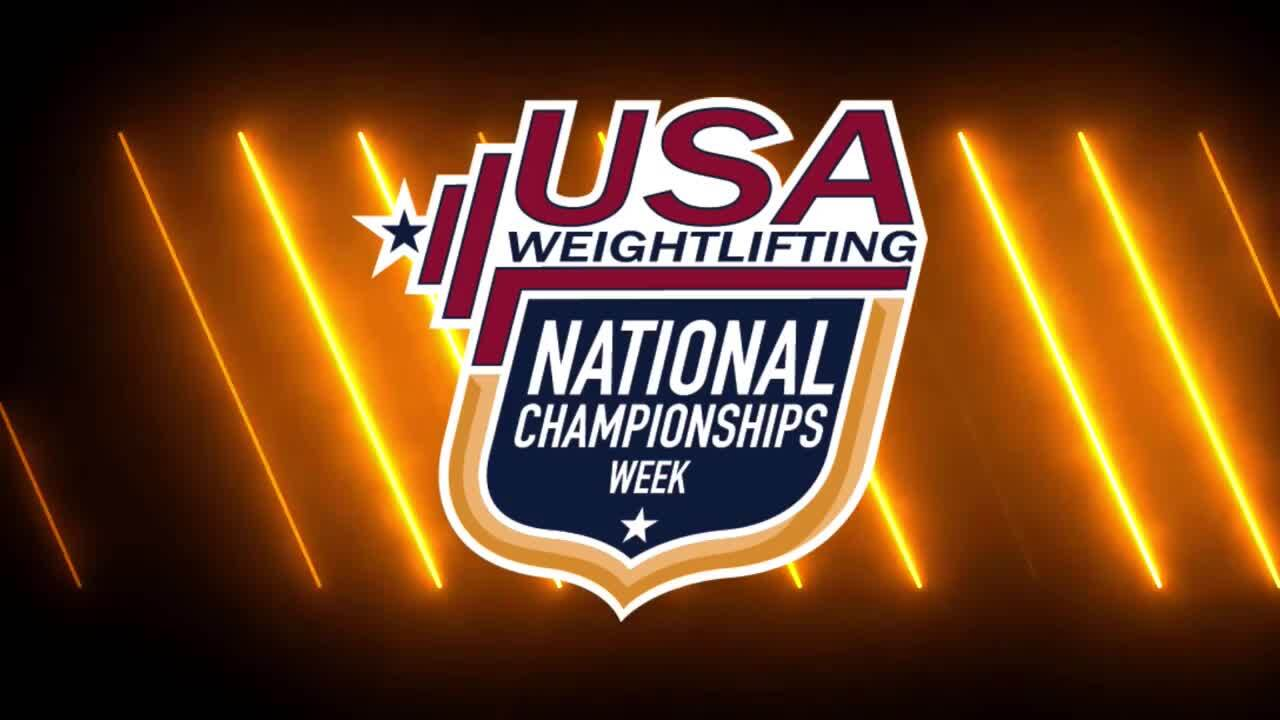 21 Nationals Session 4 Blue F 55kg A