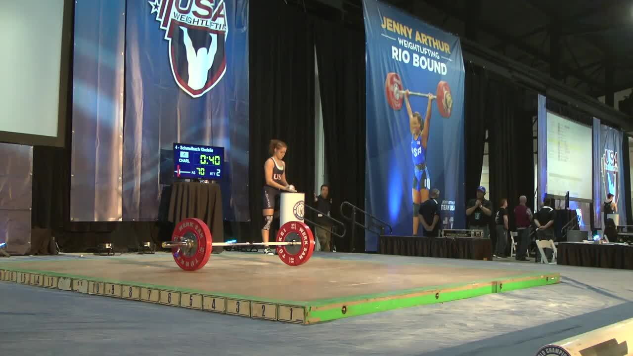 63kg A Session Snatch