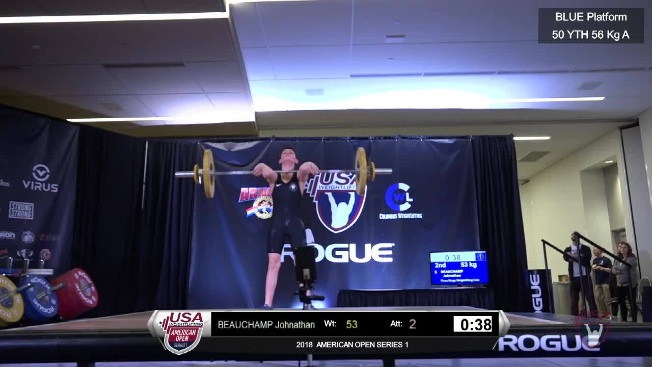 2018 AO1 M 56kg Yth 50kg