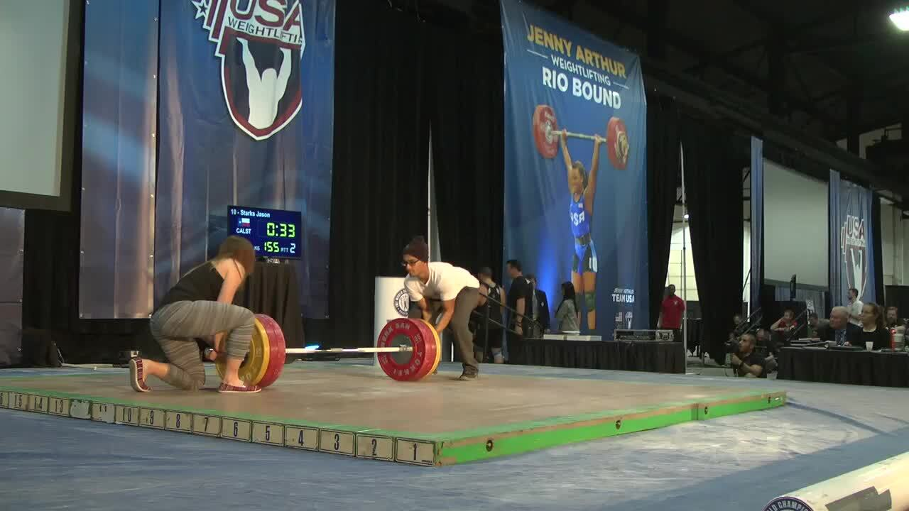 Men's Senior Trials Session Snatch
