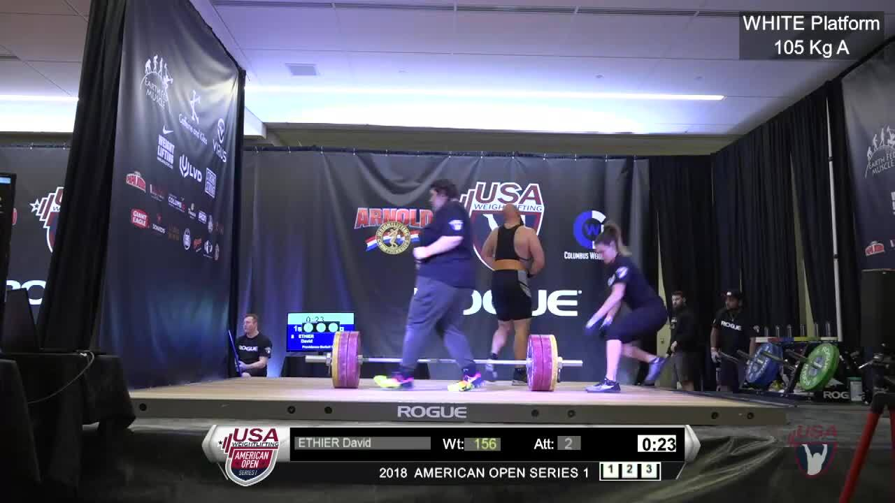 2018 AO1 M 105kg A Youth plus94kg