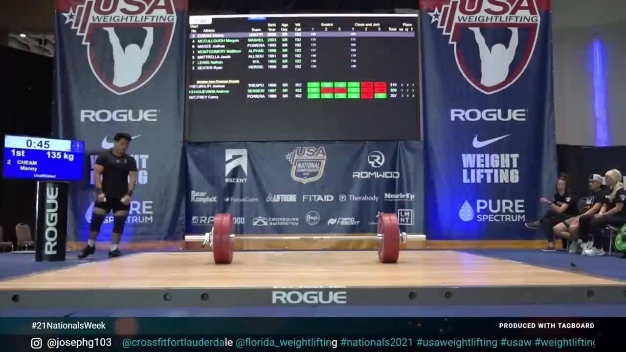 21 Nationals Session 11 Blue M 102kg A