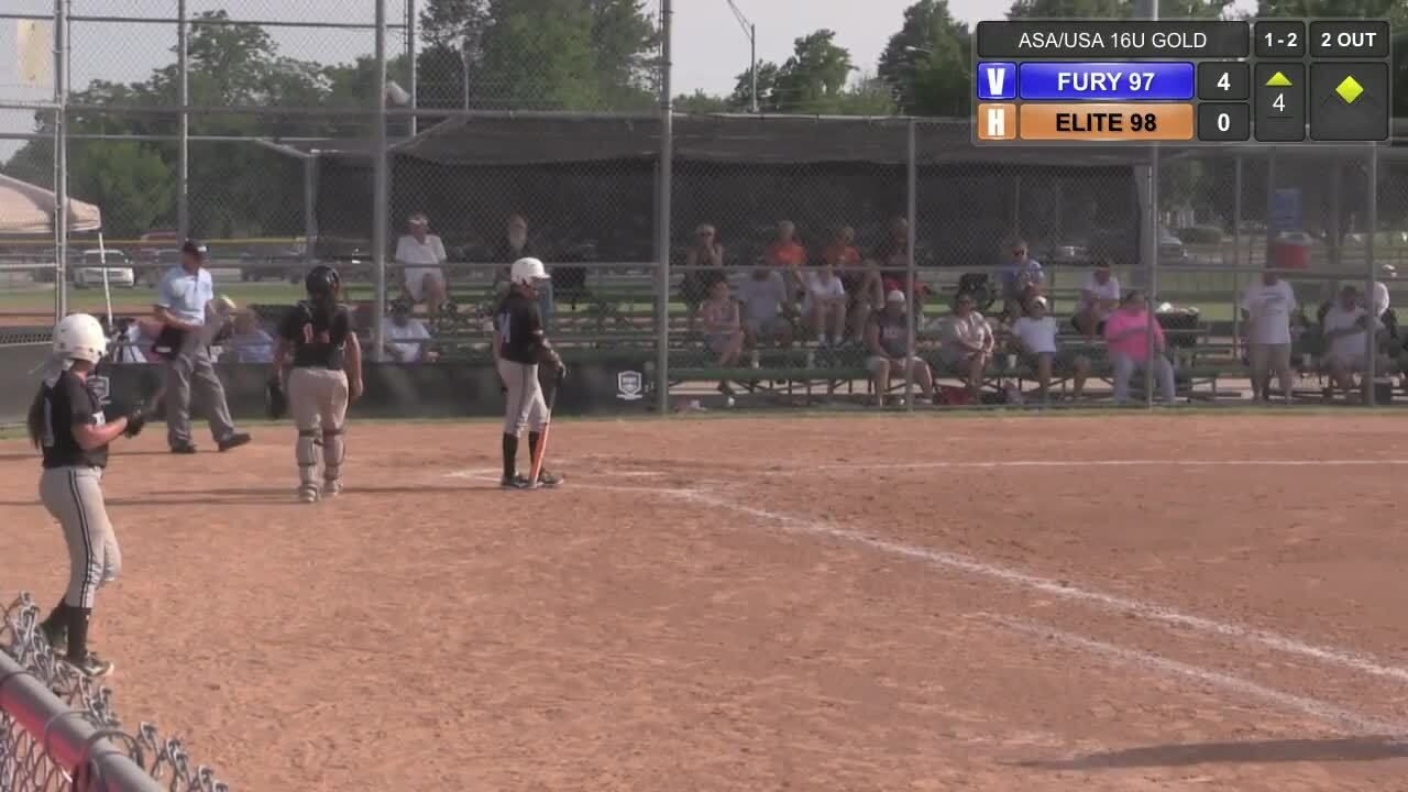 ASA/USA 16U GOLD - Tulsa Elite vs TN Fury 97 - Championship Game 1