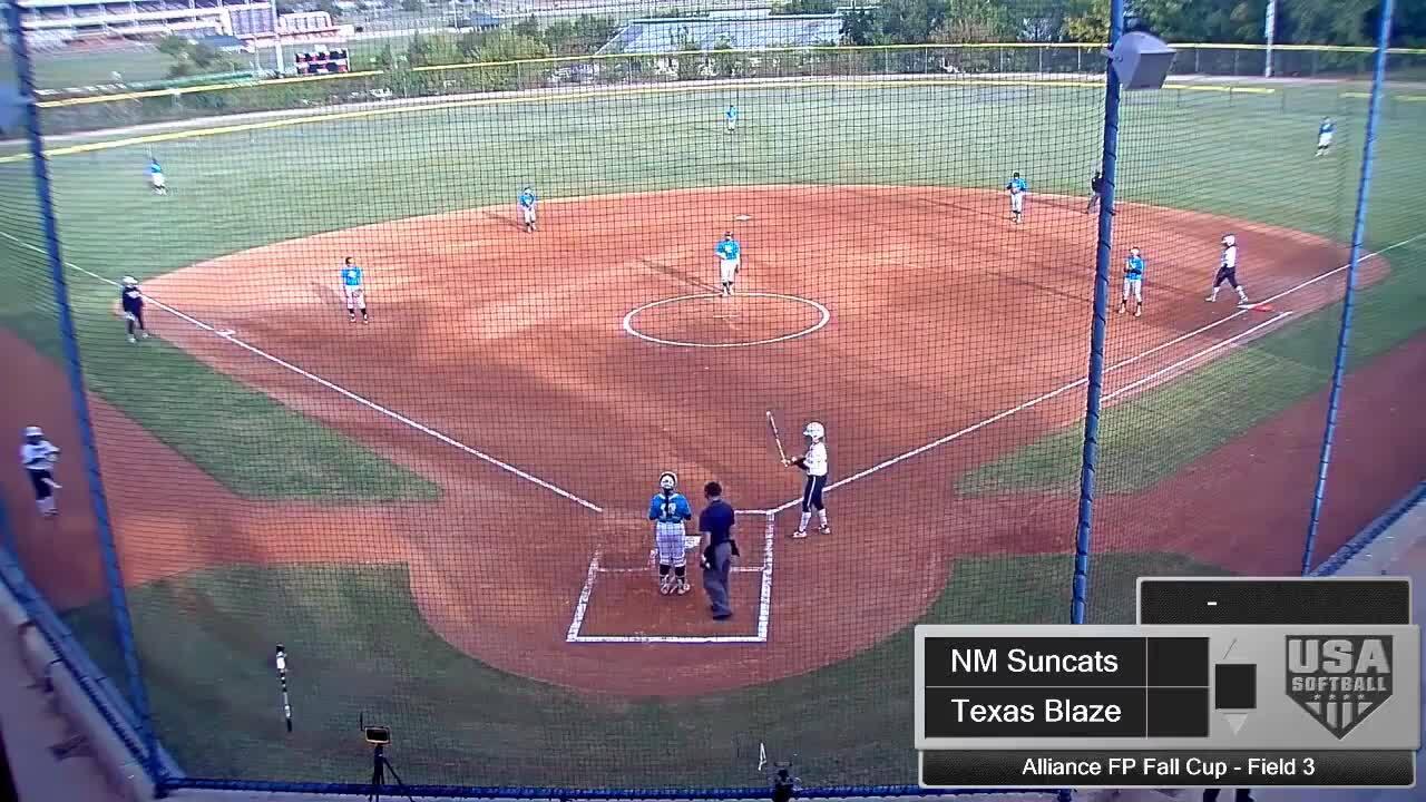 Alliance FP Fall Cup | Oct 2 | 8:30 am Field 3 | NM Suncats vs Texas Blaze
