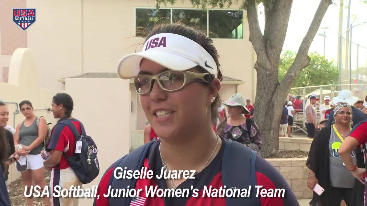 2017 WBSC JWWC - USA Softball JWNT vs Japan