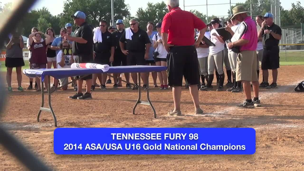 ASA/USA 16U GOLD - Awards Ceremony