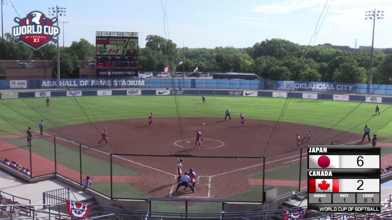 World Cup of Softball XI: Japan vs Canada