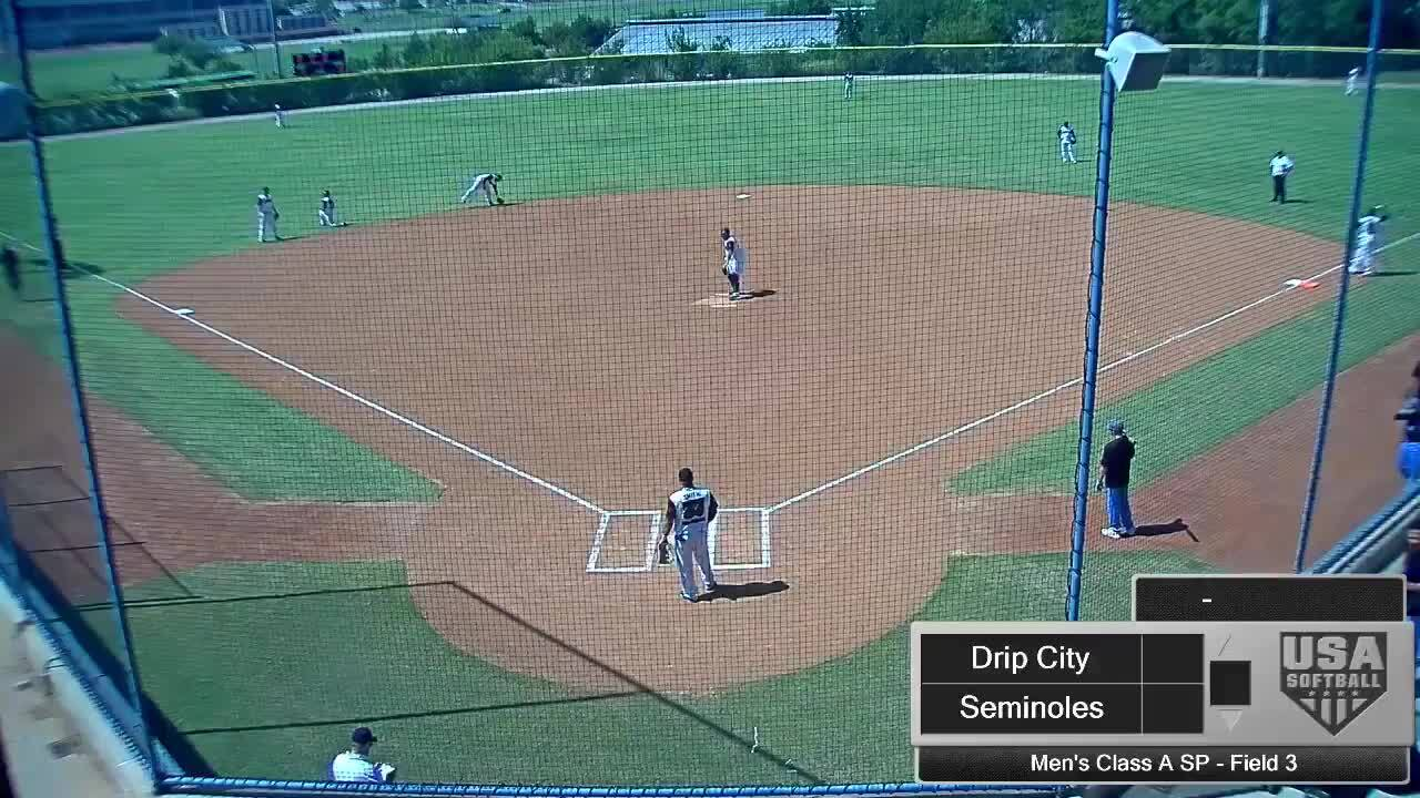 September 4 | Men's Class A SP | 3 pm Field 3 | Seminoles vs Drip City