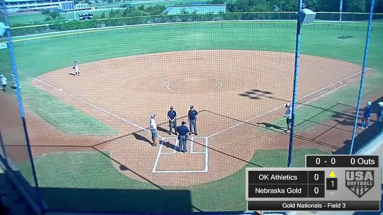 18 GOLD | July 24 | 10 am Field 3 | OK Athletics Premier vs Nebraska Gold