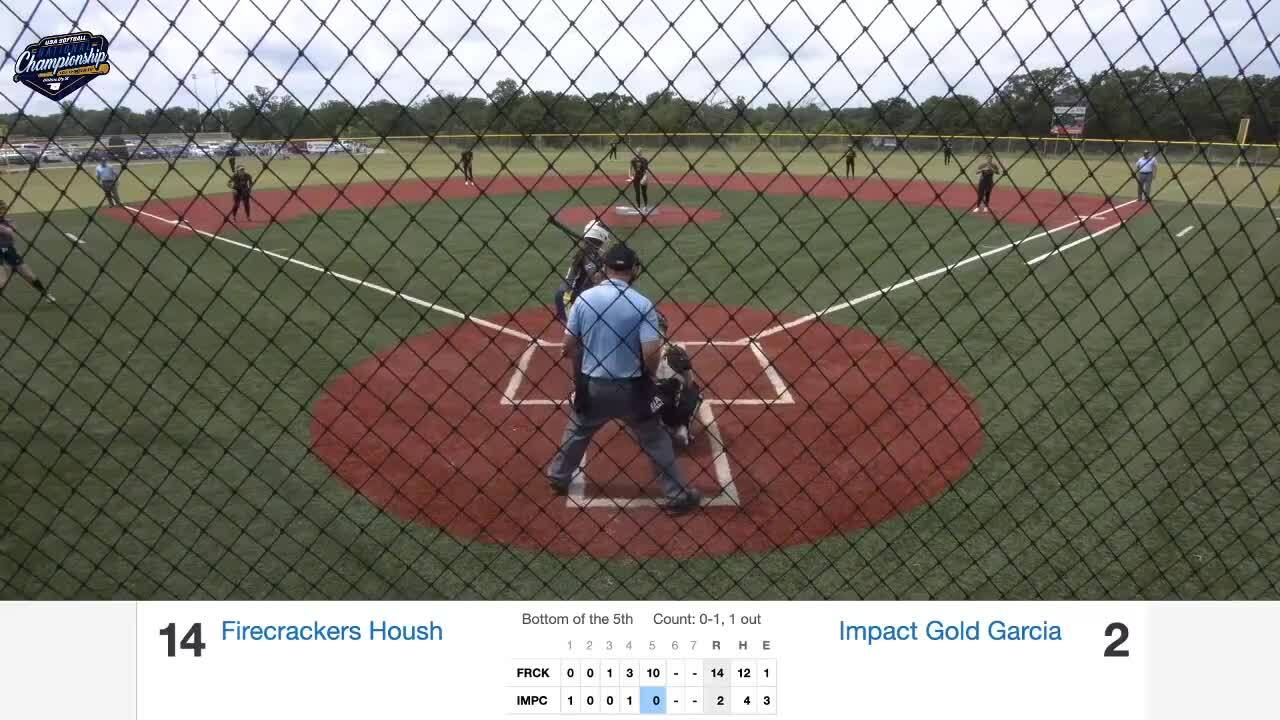 18 GOLD | July 21 | 12 pm Bouse 1 | Batbusters Stith vs Impact Gold Middlebrook