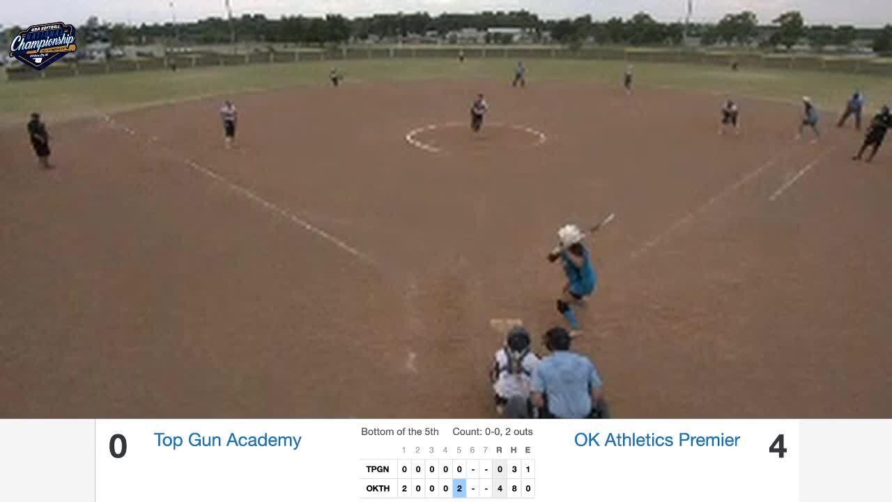 18 GOLD | July 23 | 6 pm Mustang 5 | IA Premier Gold vs OK Athletics Premier