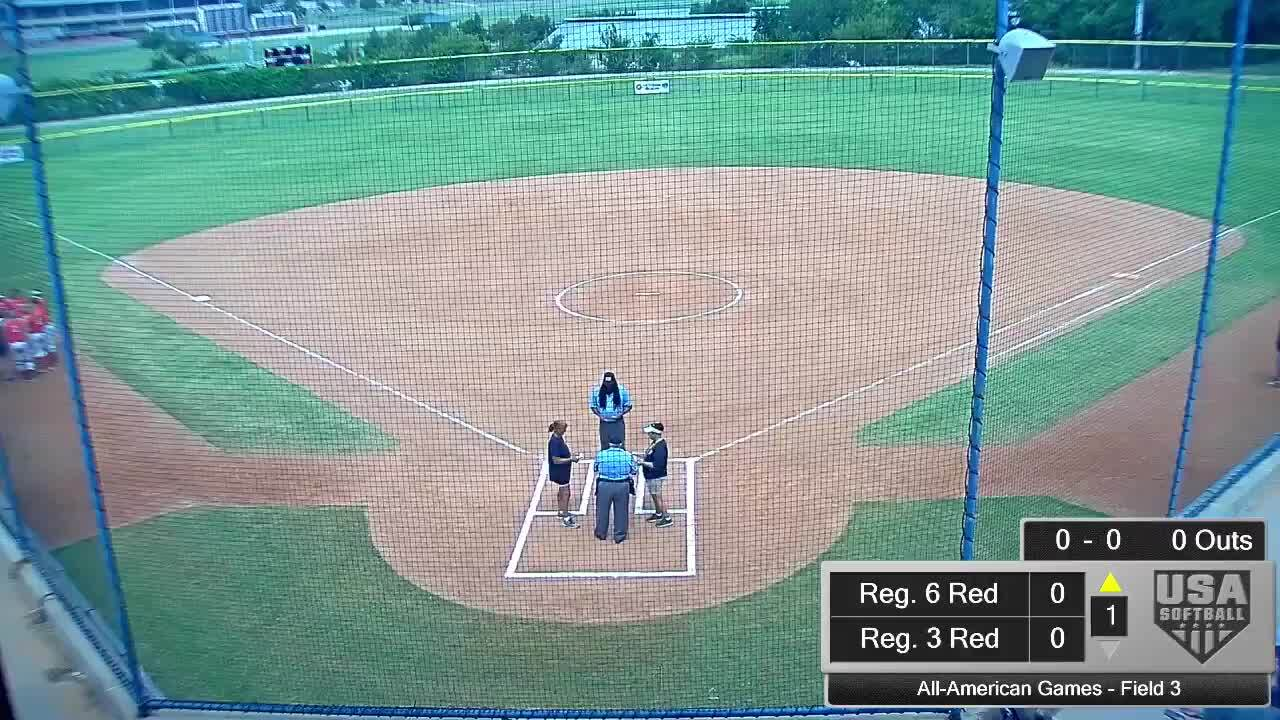All-American Games | August 16 | 12:00pm Field 3 | Reg. 5 Red vs Reg. 2 Blue