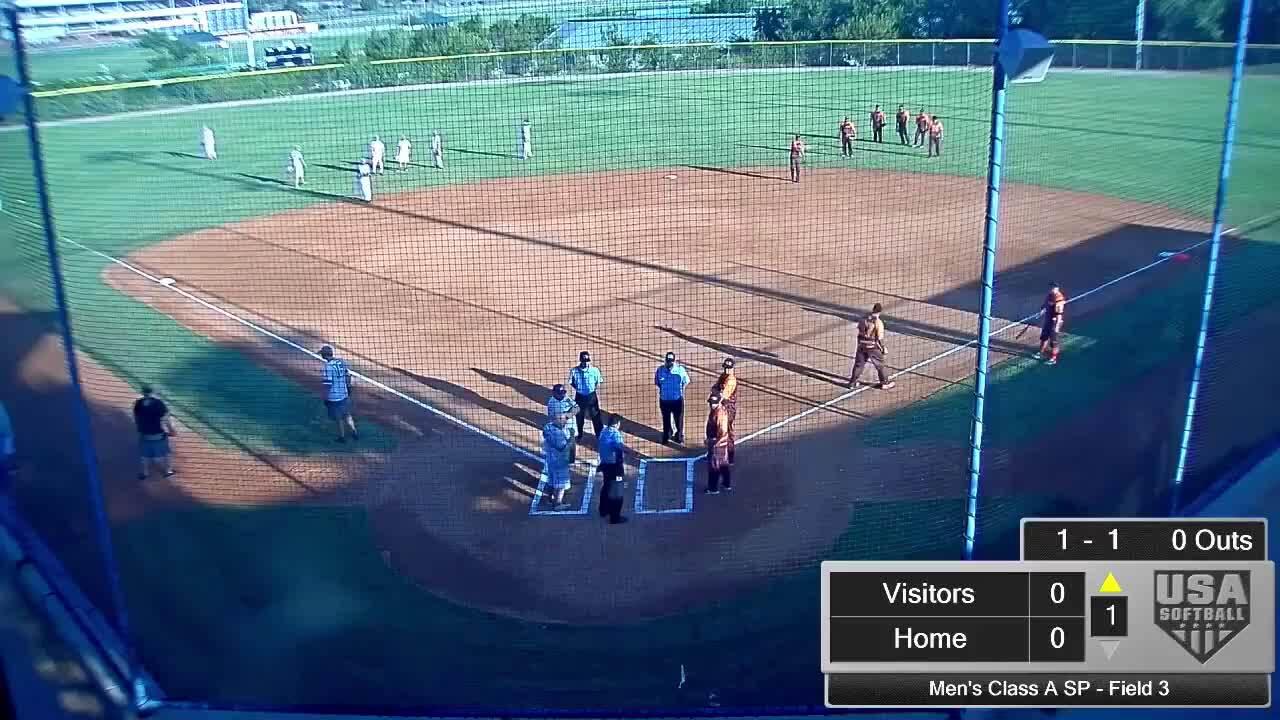 September 5 | Men's Class A SP | 8:30 am Field 3 | Ductech vs PTS
