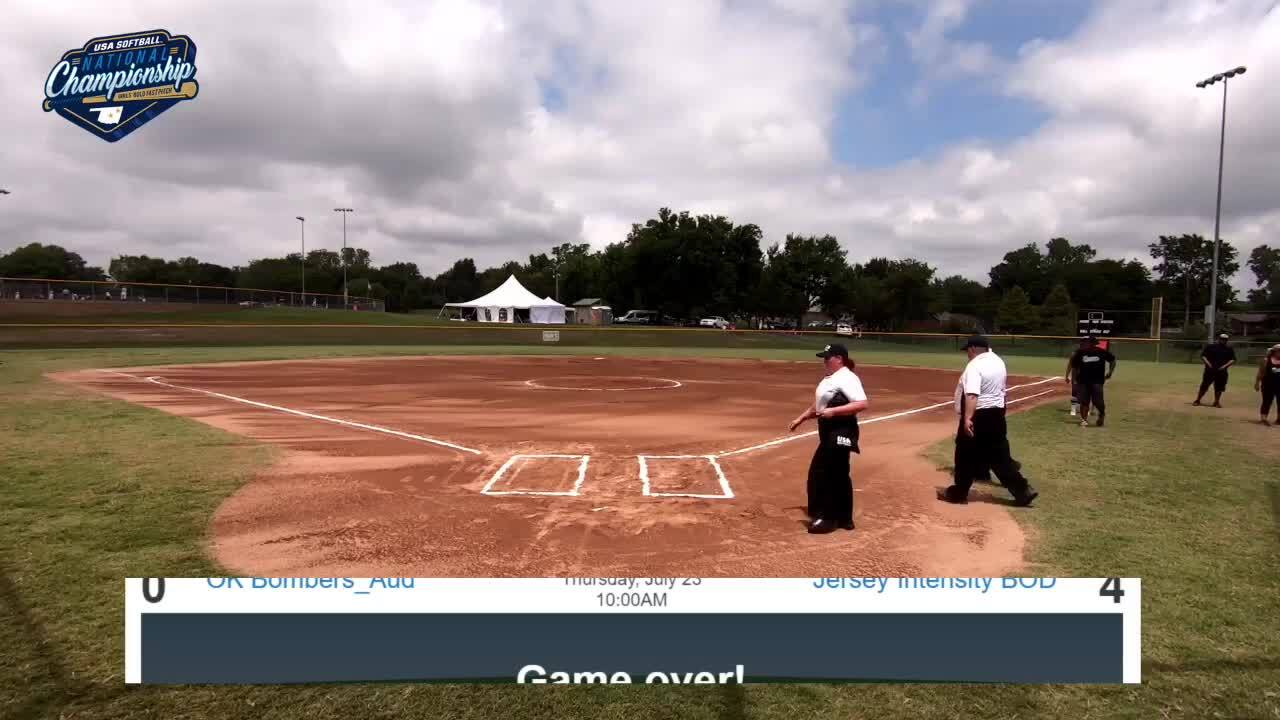 16 GOLD | July 23 | 12 pm Field 11 | CA Breeze Birch vs OK Diamond Girls