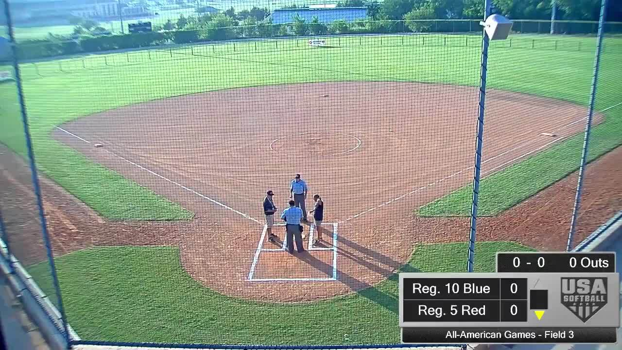 All-American Games   August 14   7 pm Field 3   Reg. 6 Red vs Reg 2 Blue