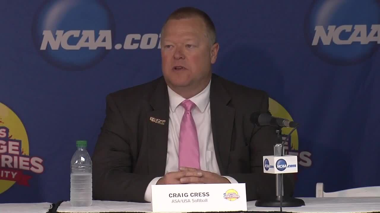 2014 NCAA WCWS Stadium Press Conference 5/29/14