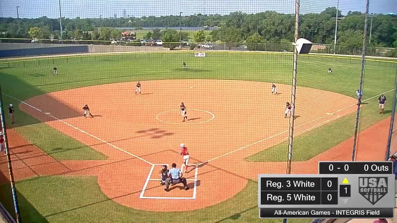 All-American Games | August 15 | 10:15 am INTEGRIS Field | Reg. 5 White vs Reg. 1 Blue