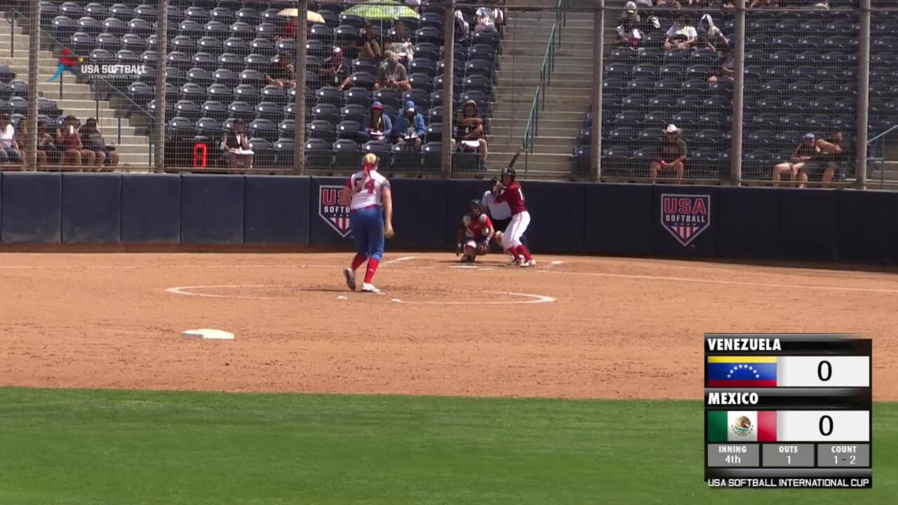 USA Softball International Cup - Venezuela vs Mexico