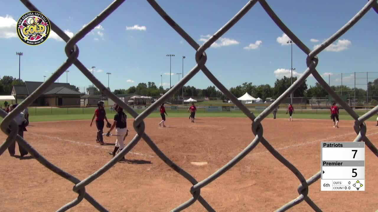 2016 16U GOLD: Patriots vs Premier Fastpitch