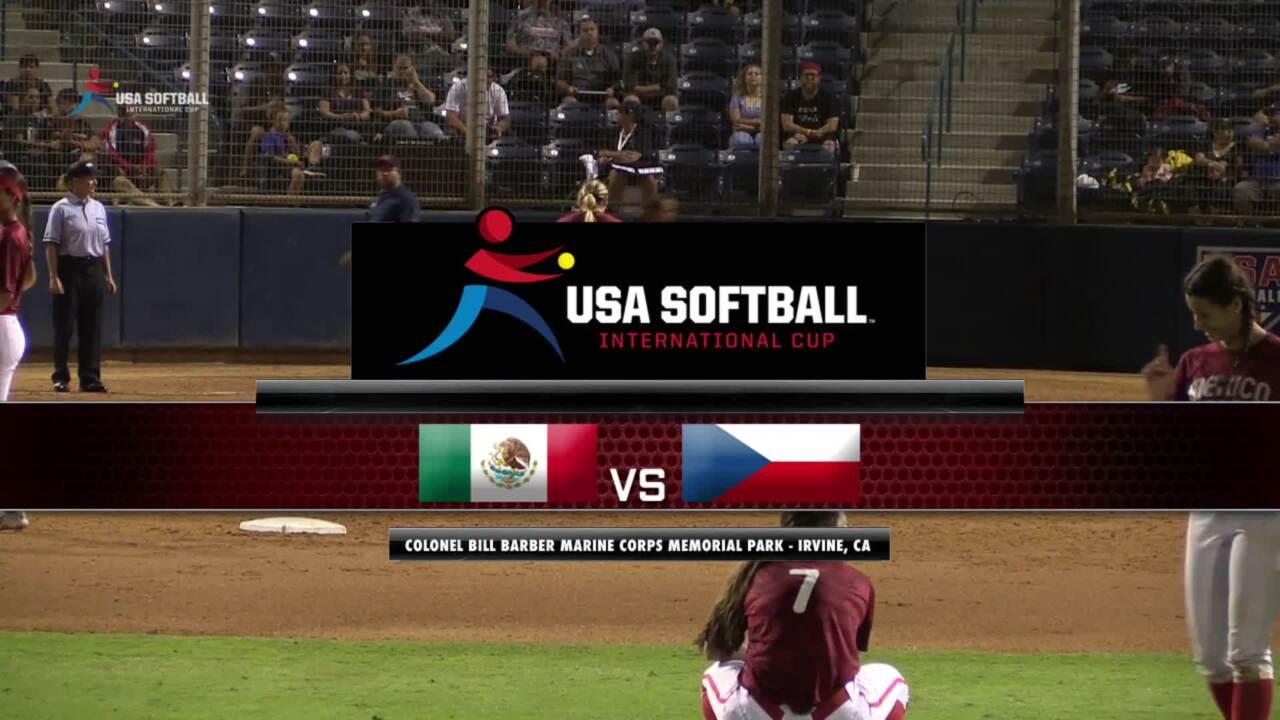 USA Softball International Cup - Mexico vs Czech Republic