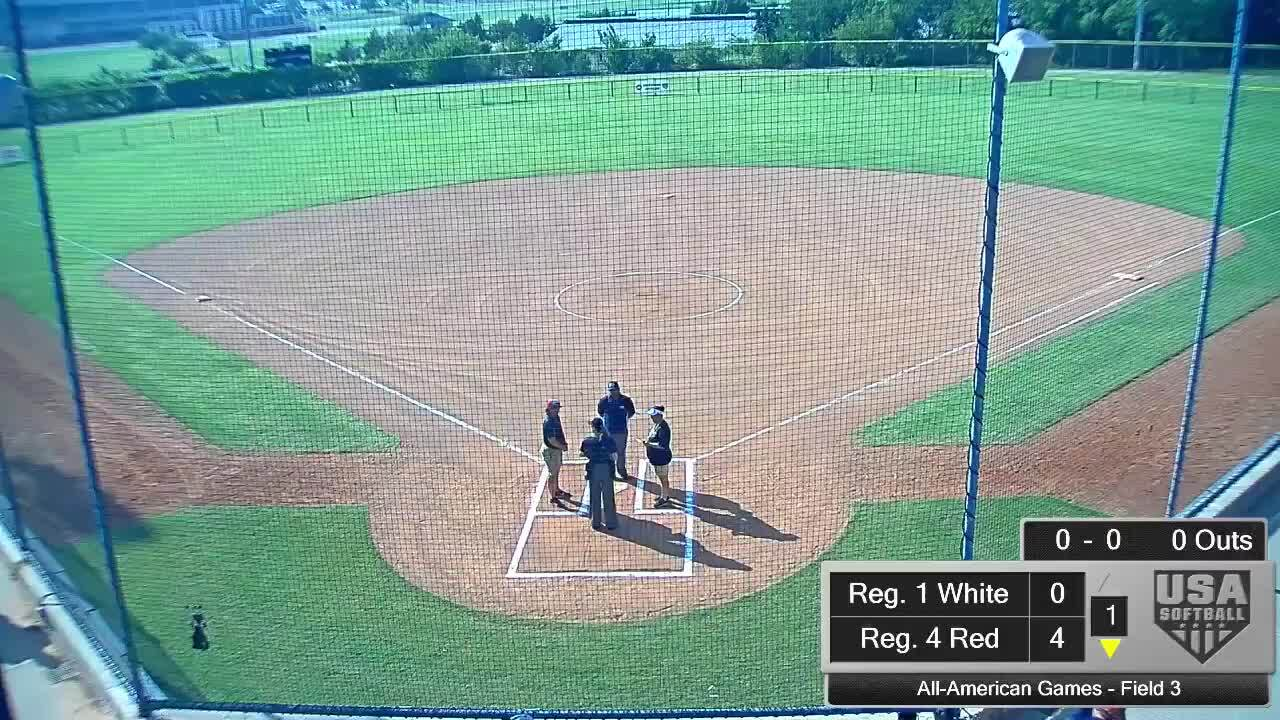 All-American Games | August 14 | 5:30 pm Field 3 | Reg. 10 Blue vs Reg. 5 Red