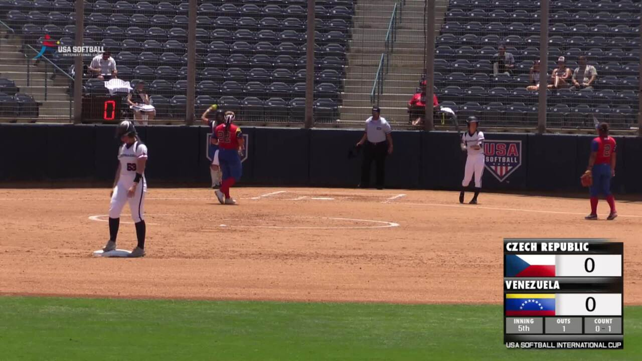 USA Softball International Cup - Czech Republic vs Venezuela