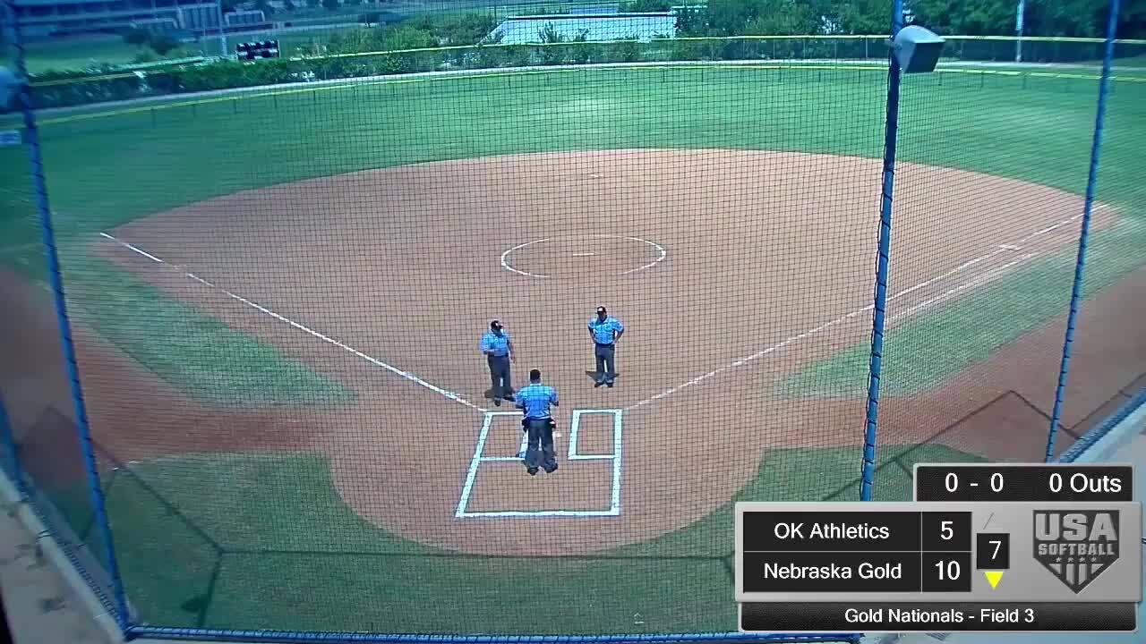 18 GOLD | July 24 | 12 pm Field 3 | So Cal Athletics Richardson vs Nebraska Gold