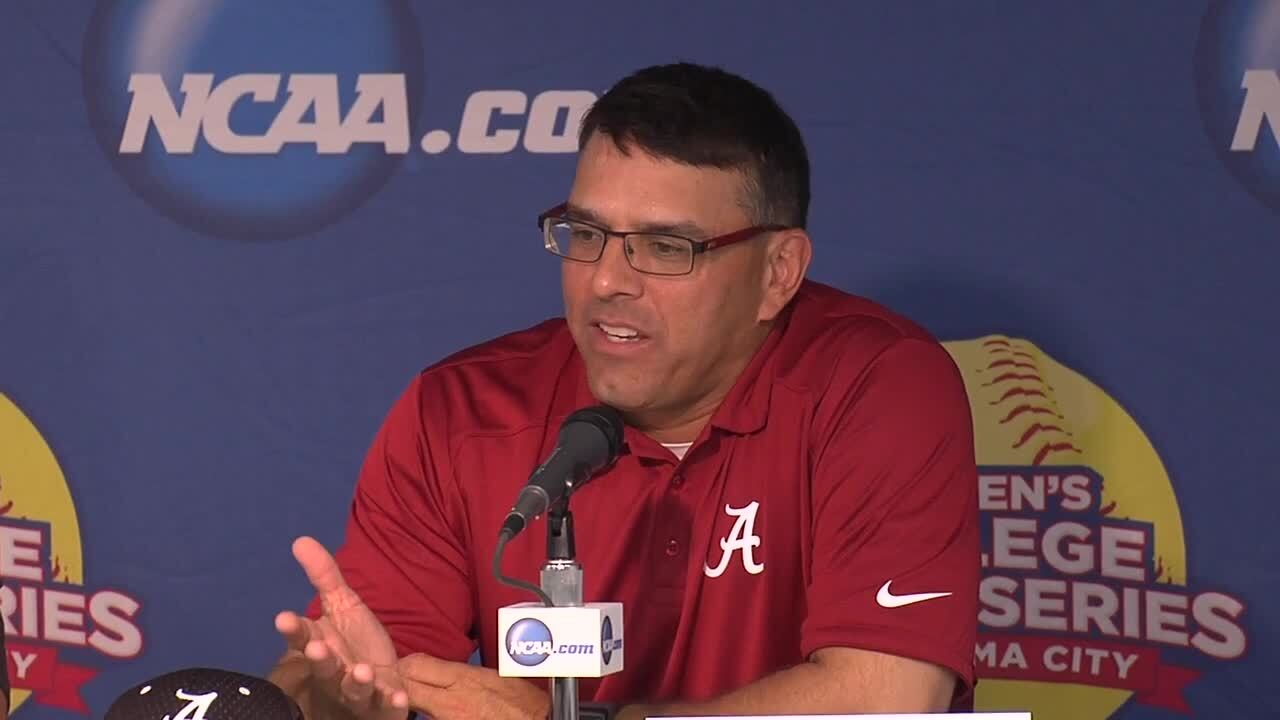 2014 NCAA WCWS Game 4 - Alabama Press Conference 5/29/14