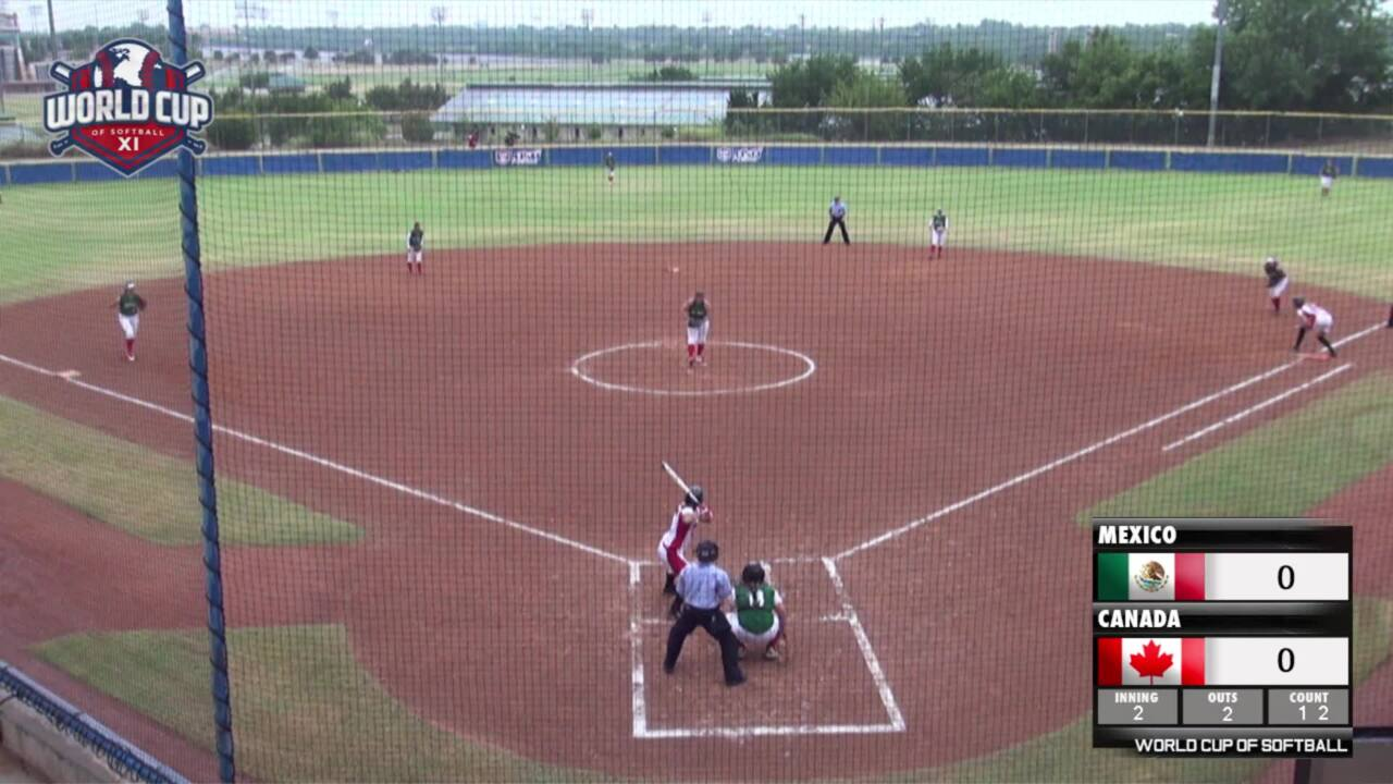 World Cup of Softball XI: Mexico vs Canada Part 1