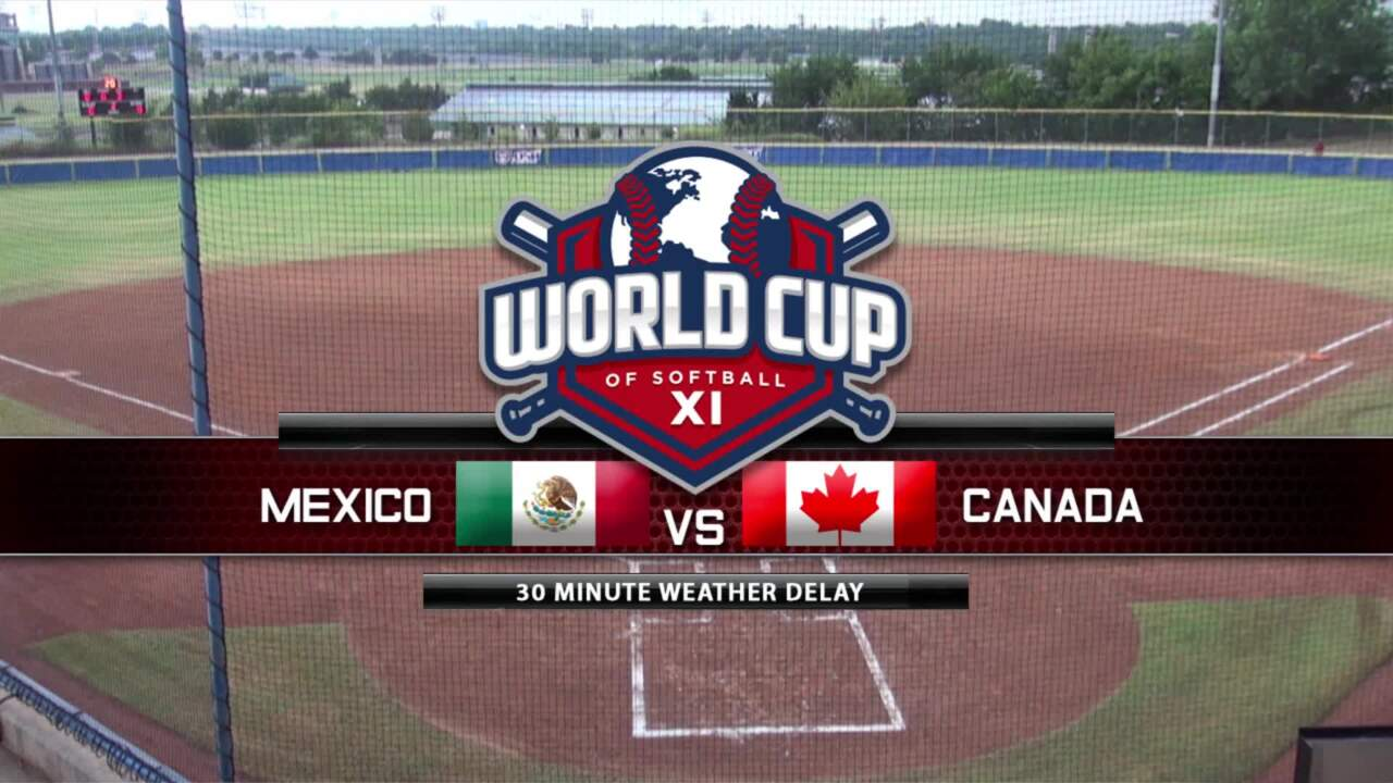 World Cup of Softball XI: Mexico vs Canada Part 2