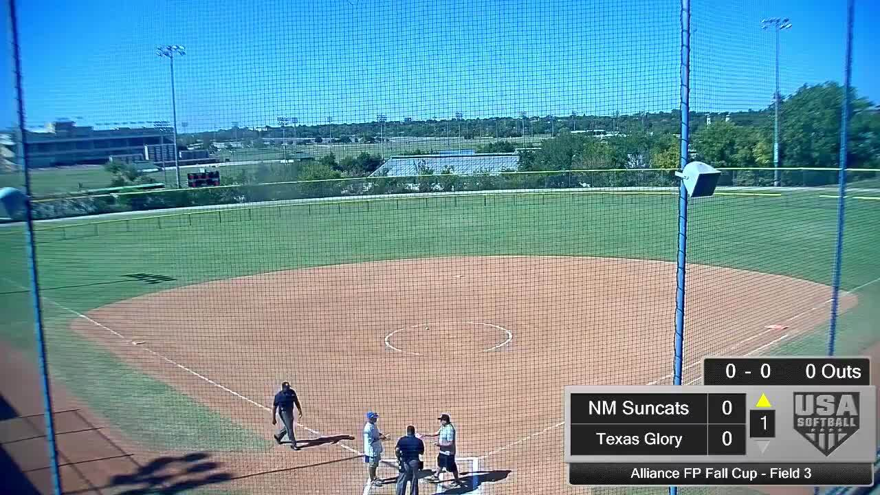 Alliance FP Fall Cup | Oct 4 | 2 pm Field 3 | Texas Glory vs NM Suncats