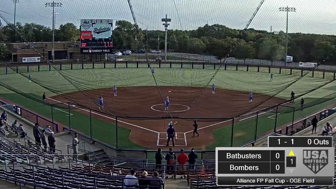 Alliance FP Fall Cup | Oct 2 | 8:30 am OGE Energy Field | OC Batbusters vs Texas Bombers