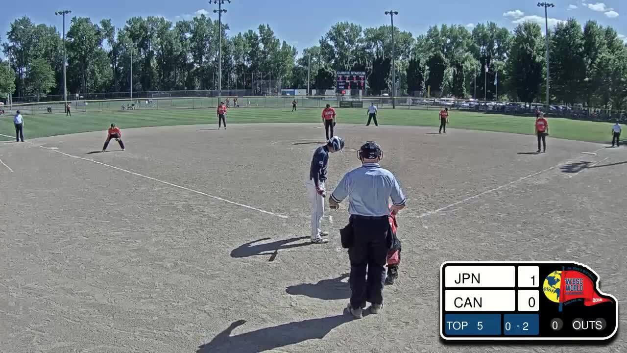 2016 WBSC JMWC: Japan vs Canada.mp4