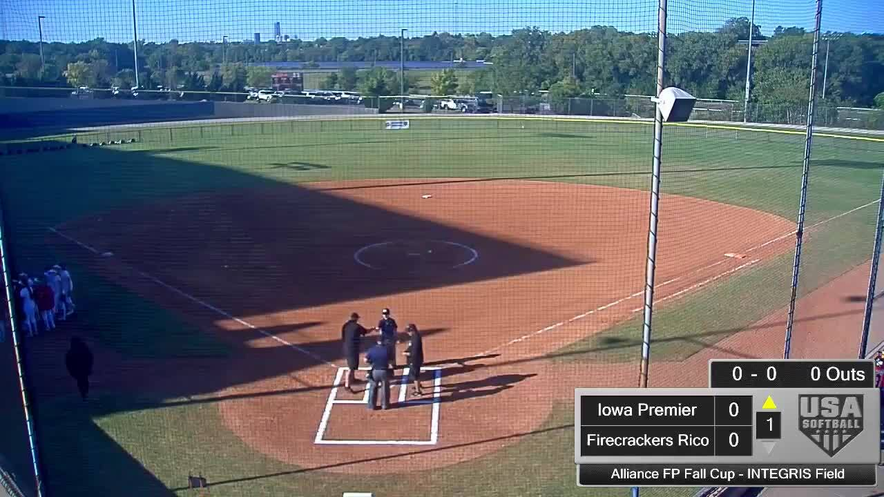Alliance FP Fall Cup | Oct 4 | 10 am INTEGRIS Field | Iowa Premier Gold vs Firecrackers Rico