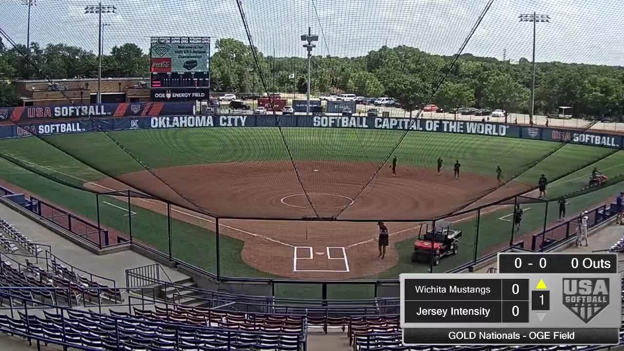 18 GOLD | July 23 | 12 pm OGE Energy | Wichita Mustangs vs Jersey Intensity