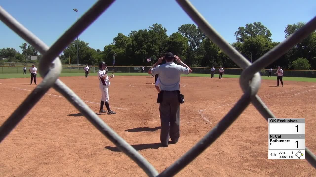 2016 16U GOLD: Exclusive vs Batbusters