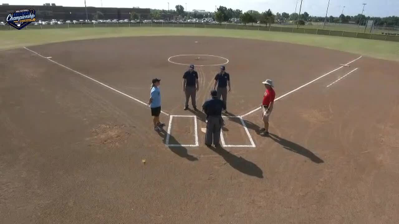 18 GOLD | July 23 | 10 am Mustang 3 | WA Angels vs OK Exclusive Premier