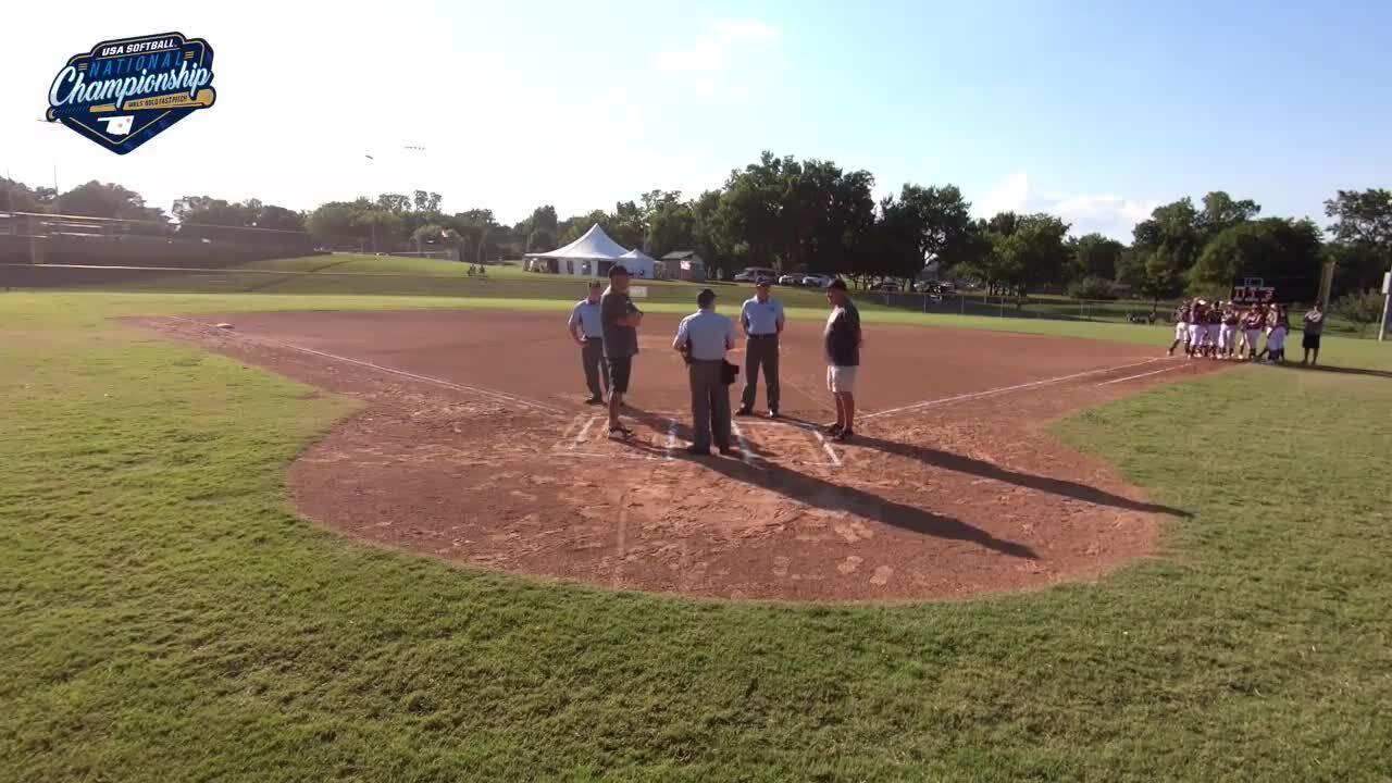 16 GOLD | July 22 | 6:30 pm Field 11 |  TX Bombers Hoffman vs Tulsa Elite 04