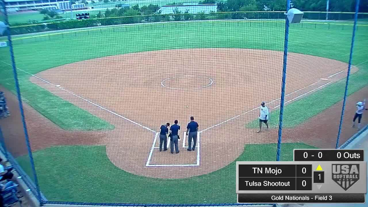 18 GOLD | July 21 | 10 am HOF Field 3 | TN Mojo vs Tulsa Shootout