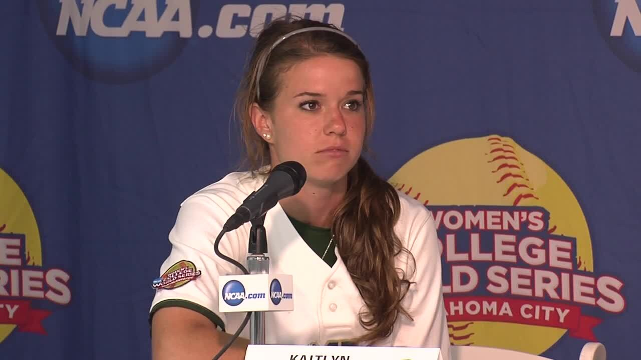2014 NCAA WCWS Game 11 - Baylor Press Conference 6/1/14