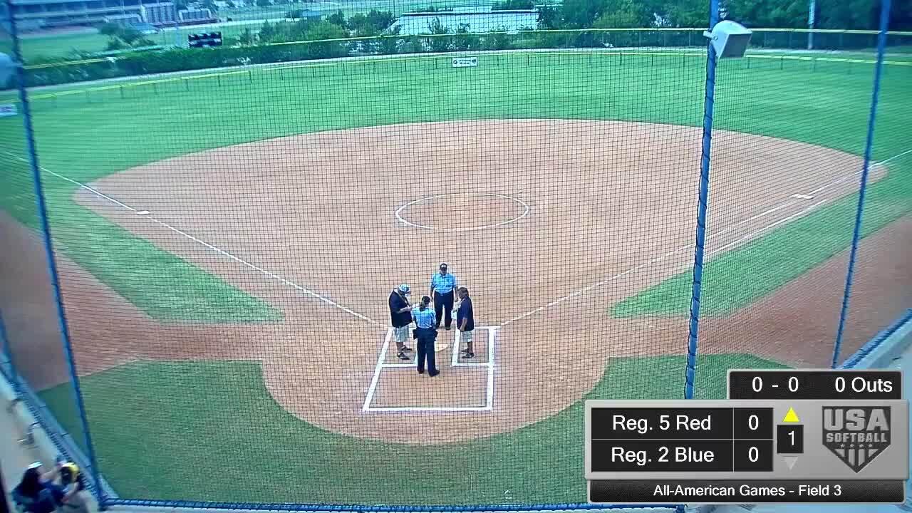 All-American Games | August 16 | 1:45 pm Field 3 | Reg. 10 Red vs Reg. 5 Blue
