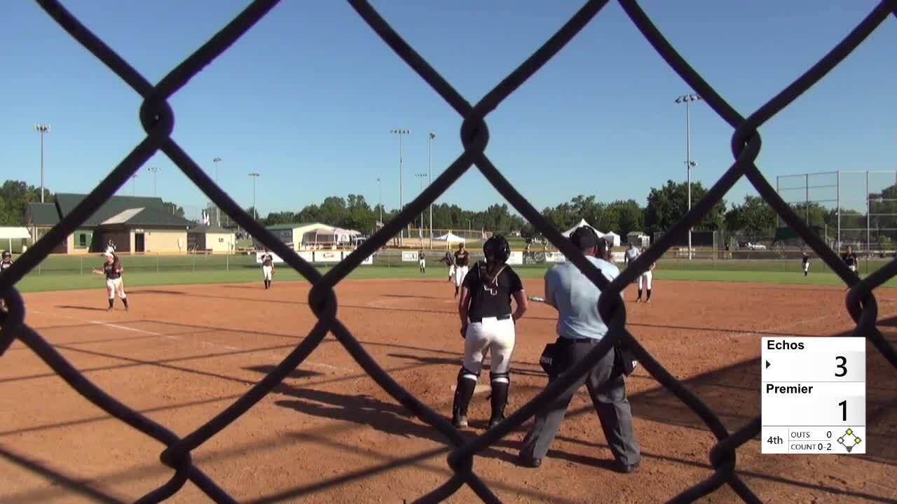 2016 16U GOLD: Echoes vs Premier Fastpitch